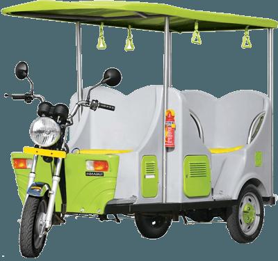 e-Raaja E-Rickshaw