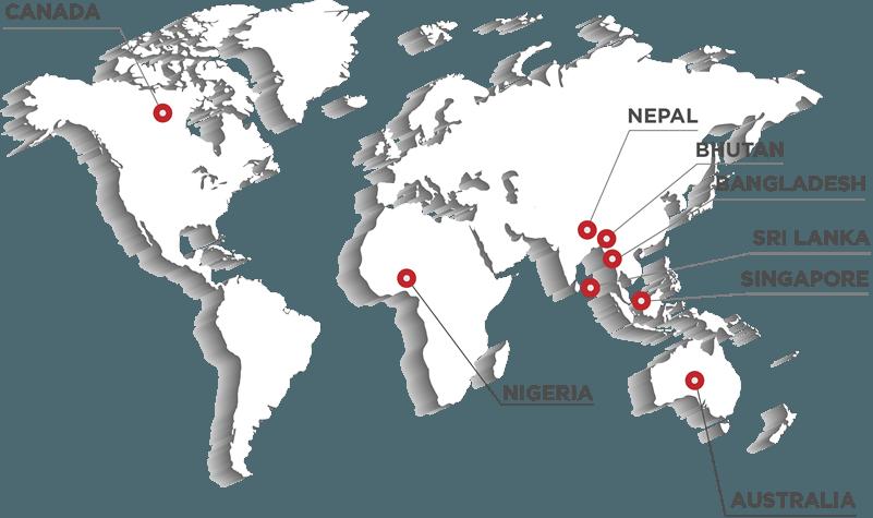 Nezone Global Presence
